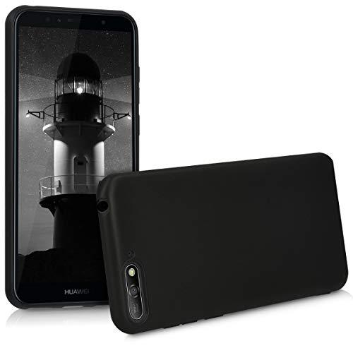 kwmobile Huawei Y6 (2018) Hülle - Handyhülle für Huawei Y6 (2018) - Handy Case in Schwarz matt