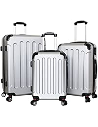 pellicano - Juego de maletas  Plateado Plata