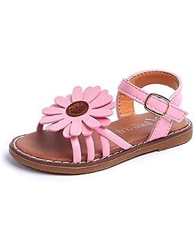 8abfcf71 [Patrocinado]Lonshell -Zapatos bebé, Niña Flores Zapatos Verano Zapatos de  Princesa Sandalias