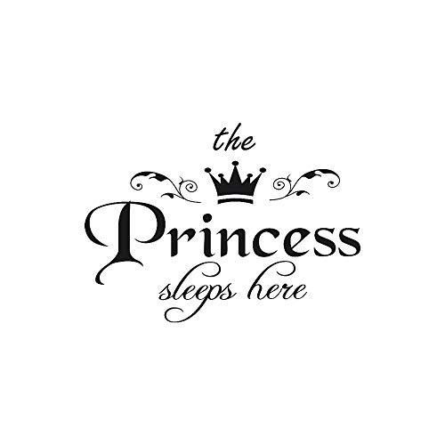 Etiqueta de la pared de wallpaper de BaZhaHei, La princesa calcomanía salón...