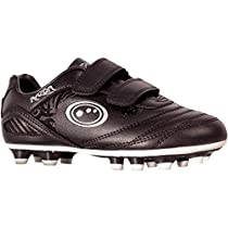 908d0939f62a amazon. Optimum Unisex Kids' Razor Moulded Stud Football Boots, Silver  (Black/Silver Silver