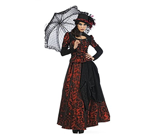 Limit Sport - Disfraz de gótica Roxaria para adultos, color rojo, talla M (EA139)