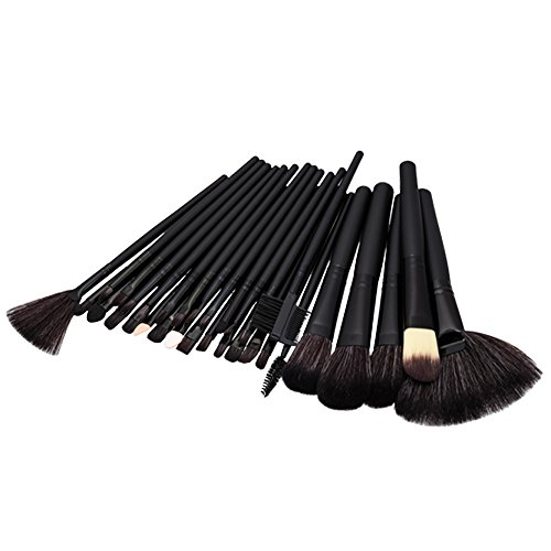 Vococal Pinceau de Maquillage Pinceaux Maquillage Professionnel Outils-Noir-32PCS