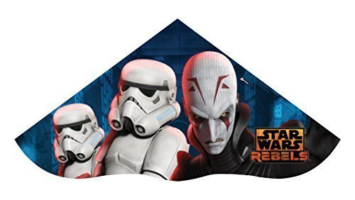 Sky Delta 52 Inch Kite - Disney Star Wars Rebels - The Inquisitor & Stromtroopers by X-Kites by X-Kites
