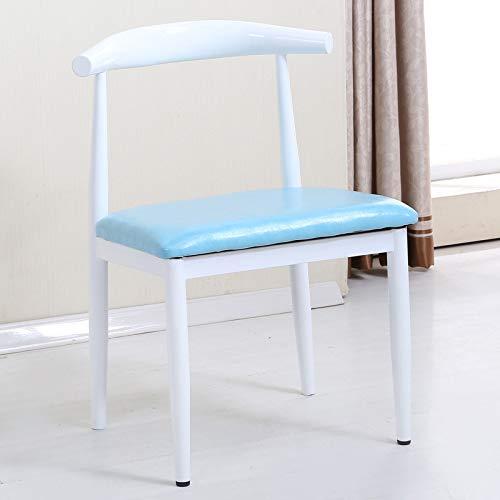 YIKUI Stuhl, Einzelne Holz-Horn-Stuhl, Low-Carbon-Öko-Restaurant Stuhl, Einfache Casual Sessel,...