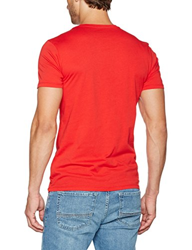 Napapijri Herren T-Shirt Sinley Rot (Bright Red R47)