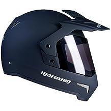 Marushin X de moto 2 Negro Mate