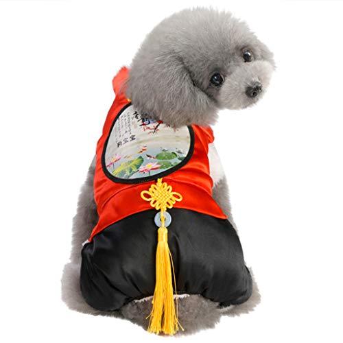 Neue Elektro Kostüm - Haustierkleidung Hund/Katze Kostüme Warm Bekleidung Hawkimin