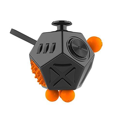 Preisvergleich Produktbild ESOOR 12-Side Fidget Toys - Anti-Angst lindert Stress und erhöht Fokus für Erwachsene und Kinder mit ADHS ADD OCD Autismus