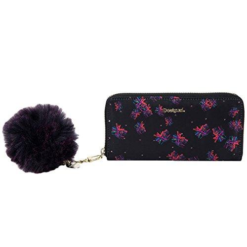 Desigual Mone Zip Around Bloomstar Geldbörse 19 cm (Around Zip Portemonnaie-tasche)