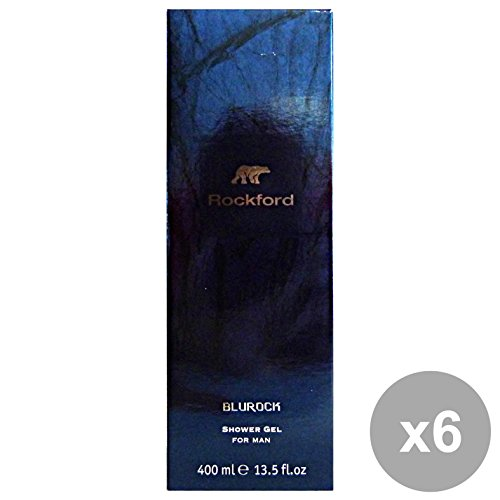 Set 6 Rockford douche homme Blurock 400 ml. Les savons et cosmétiques