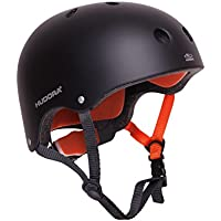 HUDORA Skateboard-Helm, Fahrradhelm, anthrazit, Gr. 51-60