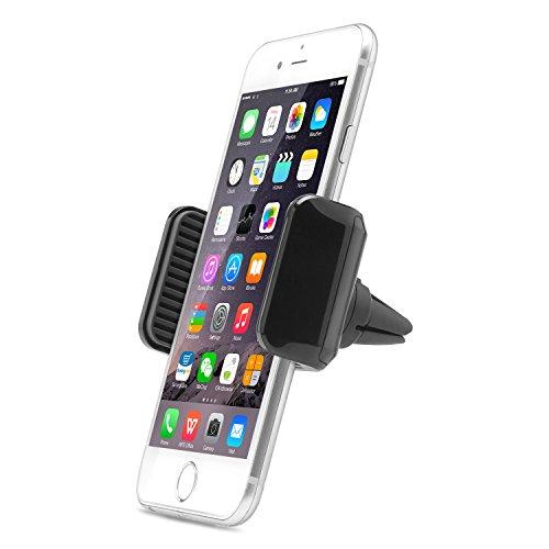 Aukey supporto del telefono air vent 360gradi ruotabile da auto supporto universale per iphone 7/6s/6/5s/5, samsung note 8, nexus e altri smartphone android, windows