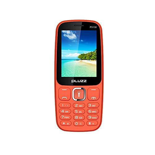 Fulltime E-Gadget 2,4 Zoll Funktionale Telefonkamera RAM 32 MB Unterstützt MP3, MP4, FM Dual SIM-Karte großer Lautsprecher Handy (Rot)