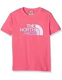 The North Face Easy, Camiseta para Niños, Rosa (Honeysuckle Pink), 164 (Tamaño del Fabricante:M)