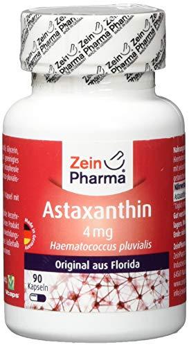 Antioxidative Orac-wert (ZeinPharma Astaxanthin 4 mg 90 Kapseln (3 Monate Vorrat) Glutenfrei, vegan, koscher & halal Hergestellt in Deutschland, 36 g)