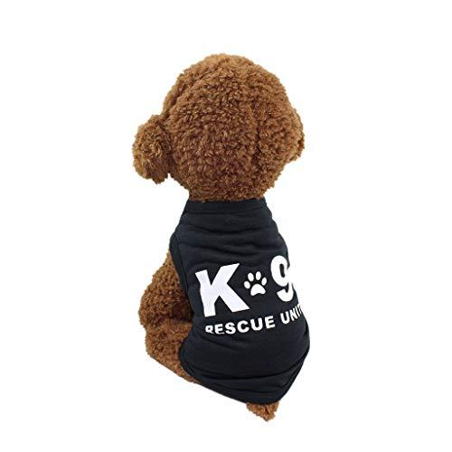 Haustiere Hund T-Shirt,Hunde Warnwesten,Shirt für Hunde,friendGG Frühling und Sommer Hund Kleidung Polyester Weste Welpen - Harley Quinn Hunde Kostüm