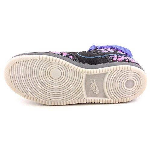 Baskets Montantes Nike Vandal Premium Qs Pour Homme 597988 Baskets Couleur: Noir Total Crimson Violet
