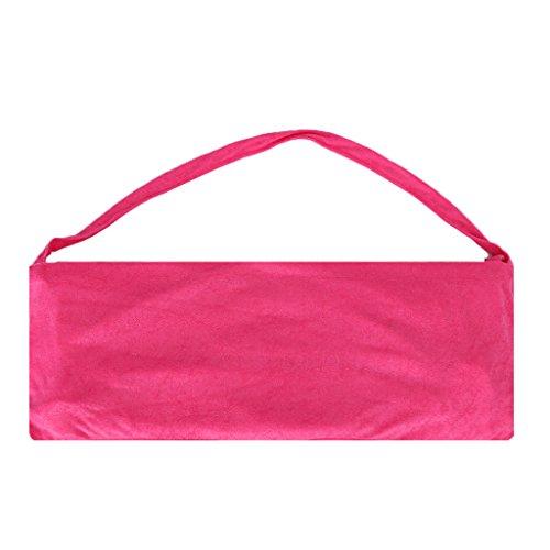 Sharplace Schonbezüge für Gartenstuhl Gartenliege Camping Klappstuhl Strand Sport Strandliege Schonbezug, in Verschiedenen Farben - Rose