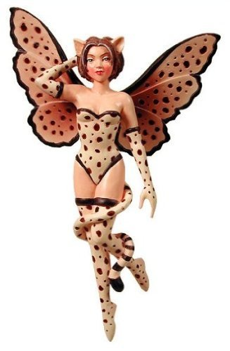 Cheetah Diva Amy Brown Faery Art Work in Poly Stone by Add an Accent (Diva Cheetah)
