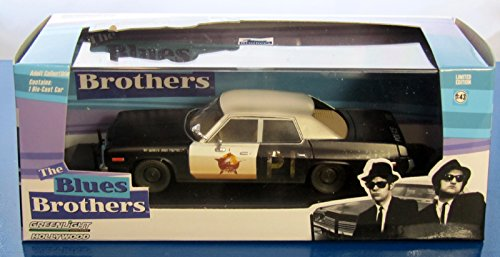 "Preisvergleich Produktbild 1974 Dodge Monaco ""Bluesmobile"" Blues Brothers Movie (1980) 1/43 by Greenlight 86421 by Greenlight"