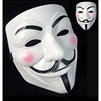 V For Vendetta Mask Adults/Kids Guw Fawkes Mask Anonymous Mask V for Vendetta Face Mask