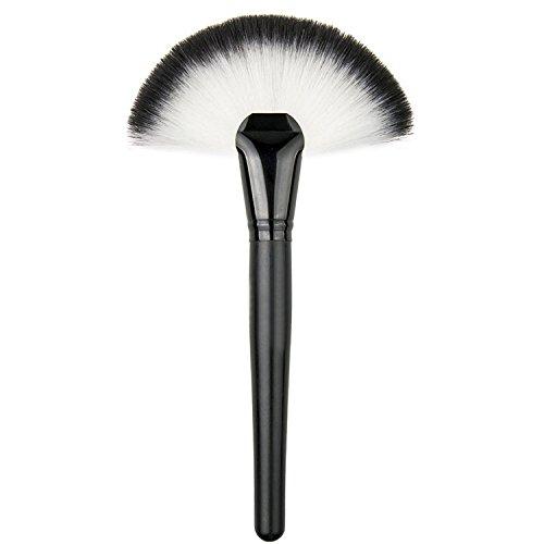 Vococal® Fondation Maquillage Nylon Grand Secteur Fan Brosse Poudre Visage Pinceau Cosmétique