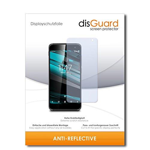disGuard® Bildschirmschutzfolie [Anti-Reflex] kompatibel mit Vodafone Smart Platinum 7 [2 Stück] Entspiegelnd, Matt, Antireflektierend, Extrem Kratzfest, Anti-Fingerabdruck - Panzerglas Folie, Schutzfolie