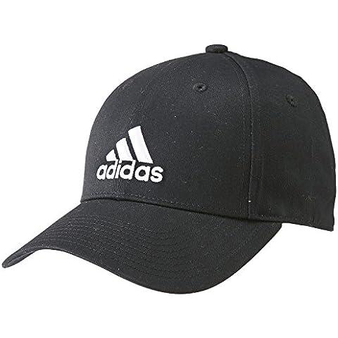 adidas PERF Cap CO - Gorra unisex, color negro / blanco, talla OSFC