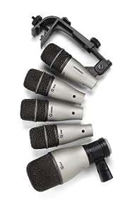Samson SADK5 Pack de 5 Microphones pour Batterie