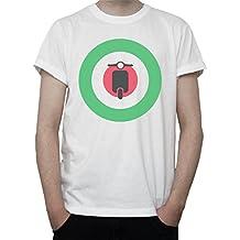 Vespa Roundel Mod Target RAF Target Mens T-Shirt