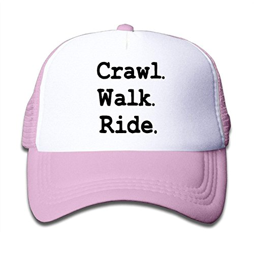 Ingpopol Youth Crawl Walk Ride Mesh Football Caps Black Ride Beanie Boys