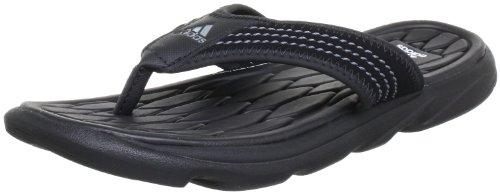 adidas Raggmo, Herren Dusch- & Badeschuhe, Schwarz (Black/Medium Lead/White), 40.5 EU (7 Herren UK)