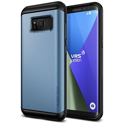 Galaxy S8 Plus Hülle, VRS Design® Schutzhülle [Blau] Schlagfesten Stoßstangen TPU Bumper Case Kratzfeste Schlanke Handyhülle [Hard Drop] für Samsung Galaxy S8 Plus 2017