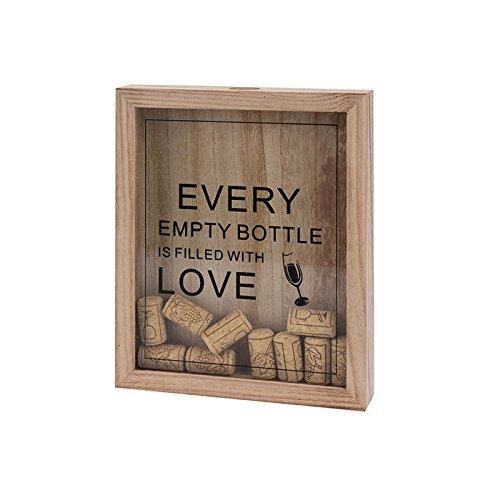 Kronkorkenbox tappo della bottiglia kastenholz tappi regalo di birra vino idea collezionisti, design2016:wein