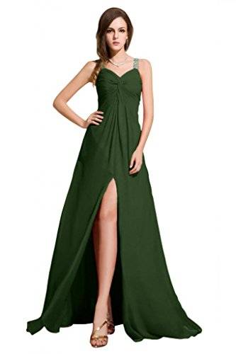 Sunvary Bateau-Cut Mother of the Bride, senza Gowns pavimento Verde scuro