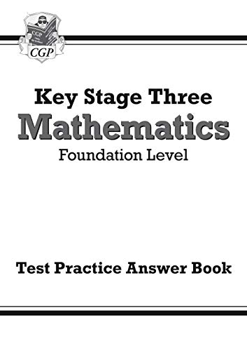 KS3 Maths Answers for Test Practice Workbook - Foundation