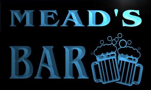 w001494-b-meads-nom-accueil-bar-pub-beer-mugs-cheers-neon-sign-biere-enseigne-lumineuse