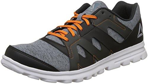Reebok Men's Electro Run Xtreme Dust/Blk/Gravel/Nacho Shoes-9 UK/India (43 EU) (10 US)(CN6124)