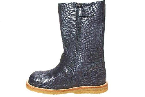 BLACK12 Stiefel Bisgaard reine Wolle wasserdicht Schwarz