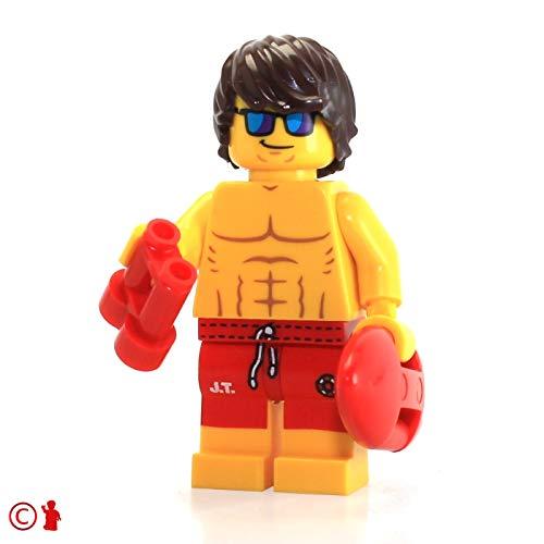 Lego Minifigure - Series 12 - Lifeguard Guy - 71007