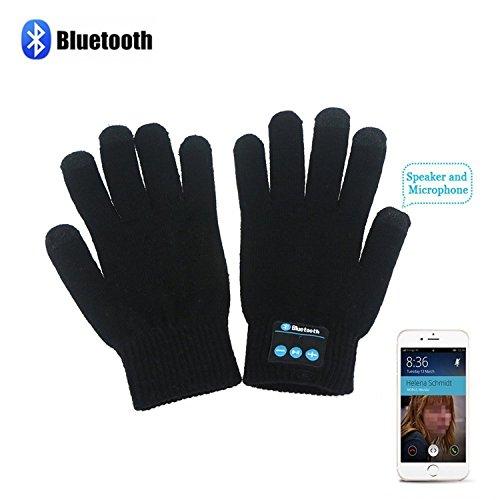 HMILYDYK invierno calentadores de punto Bluetooth