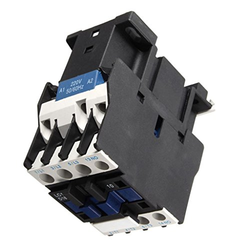 Baoblaze AC-Schütz Motorstarter Relais 50/60Hz 3-Phasen-Pol Miniatur-Leistungsschalter -