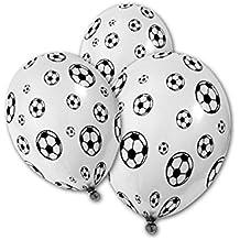 Paquete de fiesta de fútbol niños fiesta de fútbol de fiesta de cumpleaños globo de látex 16 32 invitados