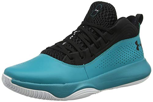 Under Armour UA Lockdown 4, Zapatos de Baloncesto para Hombre, Negro (Black 003), 42.5 EU