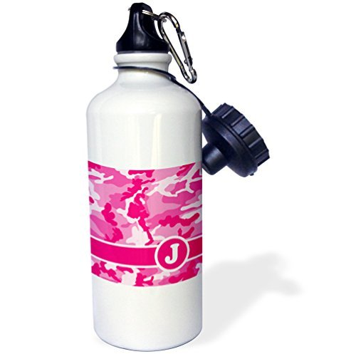 statuear-rose-camo-camouflage-en-aluminium-567-gram-bouteille-deau-600-ml-cadeau