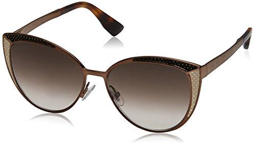 Jimmy Choo Damen DOMI/S JS PTC 56 Sonnenbrille, Braun (Bwbk Metalz/Brown Sf),