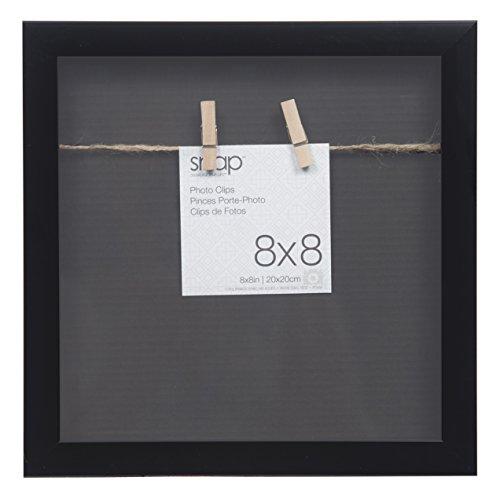 Snap Shadowbox Clip Rahmen, schwarz, 20,3x - Horizontale Mehrfach-bilderrahmen