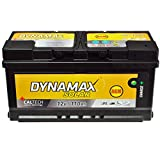 AGM Solar Batería SAI 110Ah Dyna Max Mantenimiento libre corriente de emergencia en lugar de 150Ah 140Ah 130Ah 120Ah 100Ah Gel
