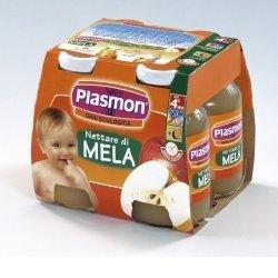 Plasmon Nettare di Mela 4x125